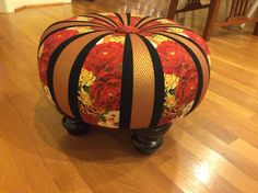 I made this!  Just finished making with a prefabricated Tuffet from TheTuffetSource.com