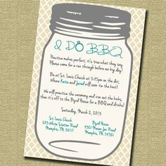 Wedding Shower I Do BBQ by PressPrint2Party on Etsy, $10.00