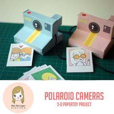 Printable Polaroid Cameras - Sooo CUTE!