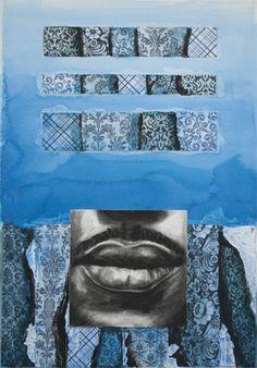 Totem (Blue II)  JBarberStudio - Weekly Art - Week9