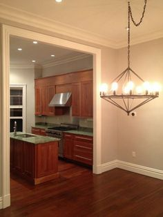 Boston Brownstone Painting. traditional kitchen