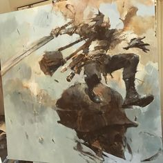 Tk box art in progress #ashleywood #ashleywoodart #tomorrowkings