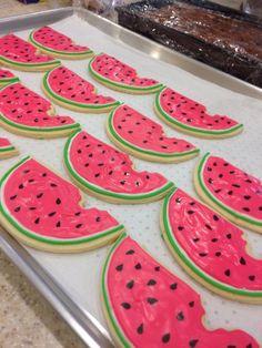 •Watermelon Sugar Cookies•