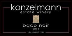 Konzelmann Estate Winery NOTL - Baco Noir...enjoying a glass (or two) right now!
