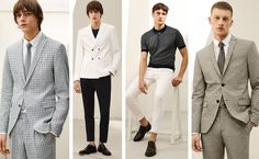 The latest editorial of Zara Man Tailoring Summer 2016 suggest elegant tailored suits, blazer, jacket, trouser in smart casual retro vibe