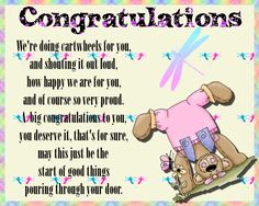 Let them know how very proud you are of them with this cute congratulations card. Free online We're Doing Cartwheels ecards on Congratulations Graduation Words, Graduation Speech, Congratulations Graduate, Happy We, Big Hugs, Condolences, Name Cards, New Job, Card Sizes