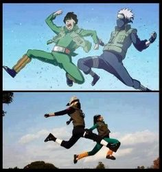 Kakashi and Gai