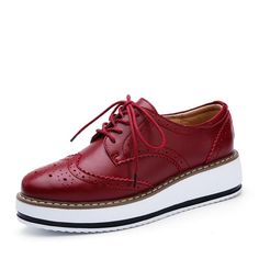 platform Oxford shoes - Red Prada u1ITTX