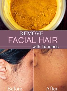 All natural and no expensive treatment involved: remove facial hair like Indian women do