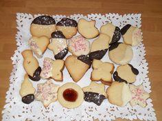 recopilatorio de galletas variadas: de mantequilla, jengibre, cookies con trocitos de chocolate,...