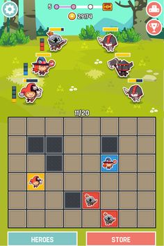 Tiny Guild - RPG + Battleship game mechanics. Sign up here for more info http://www.tiny-guild.com Thank you for the repin! :) #rpg #cute #iosgames #androidgames #taptitans #discozoo