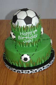 Soccer Cake on Cake Central Soccer Birthday Cakes, Soccer Cakes, Soccer Party, Soccer Theme, Lego Soccer, 8th Birthday, Cupcake Gigant, Candy Crush Cakes, Cupcake Cakes