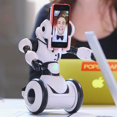 We'll be attending every meeting via robot from now on.