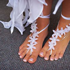 what do u think of this foot Beachwear instead of being barefooted with no shape??