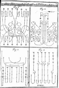 baroque dance notation