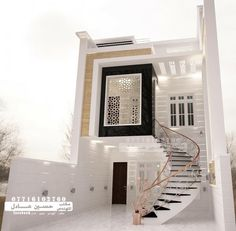 Amazing House Design Ideas For 2020 - Engineering Discoveries Bungalow Haus Design, Duplex House Design, House Front Design, Cool House Designs, Modern House Design, Villa Design, Style At Home, Dream House Exterior, House Elevation