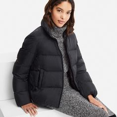 Find outerwear for women at affordable prices including trench coats, parkas, and more. UNIQLO US. Uniqlo Women Outfit, Hooded Parka, Jackets For Women, Clothes For Women, Different Fabrics, Downlights, Outerwear Women, Winter Wardrobe, Winter Outfits