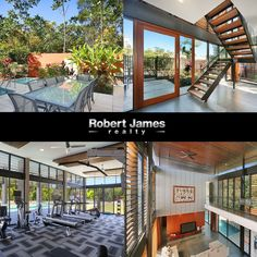 #Propertyforsale #Realestate Custom designed by Woods Bagot. Soaring open spaces. Absolute Quality and Style.  3 Double bedrooms with polished timber floors. Theatre Room / Study or convert to a 4th bedroom if needed.  Parkland on the Northern and Eastern sides of the home.  Location: 11 Wild Apple Court, Noosa Heads, QLD, 4567