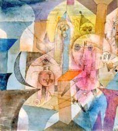 Astrale automaten -1918 - Paul Klee (Swizterland, 1879-1940)