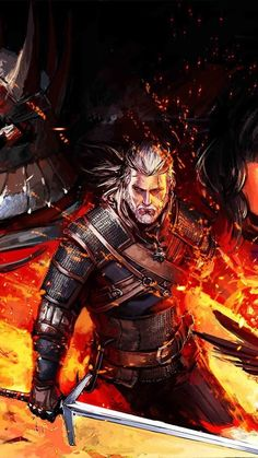 The Witcher 3 art Witcher 3 Art, The Witcher Game, The Witcher Books, The Witcher Wild Hunt, Anime Fantasy, Dark Fantasy, Fantasy Art, Cultura Pop, Witcher Wallpaper