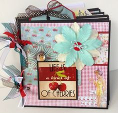 Scrapbook Albums | This album measures approximately 6x6 inches and includes sturdy ...
