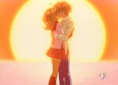 Mermaid Melody Lucia y Kaito Kaito, Anime Mermaid, Mermaid Dolls, Anime Love Couple, Cute Anime Couples, Anime Kiss, Anime Manga, Mako Mermaids, Mermaid Melody