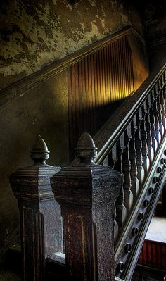 """Ohio State Reformatory in Mansfield, Ohio, abandoned since 1990.  The movie """"Shawshank Redemption"""" was filmed here.  Would love to see it one day!"""