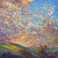 Mosaic Sky Painting