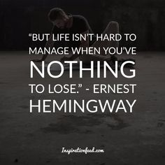 Learn the wisdom from one of the most influential writers of the century. Here are some of the best Ernest Hemingway quotes to inspire your writing. Ernest Hemingway, Earnest Hemingway Quotes, Moving To Idaho, Helen Keller Quotes, I Love Sleep, Famous Words, Leadership Development, Love Words, Positive Vibes