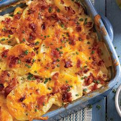 Hearty Thanksgiving Casseroles: Chipotle Scalloped Potatoes