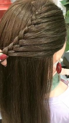 Heart Hairstyles, Open Hairstyles, Braided Hairstyles Tutorials, Easy Hairstyles For Long Hair, Hair Tutorials For Medium Hair, Medium Hair Styles, Short Hair Styles, Hair Style Vedio, Hair Styler