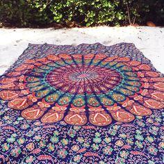 Ganesha Beach Throw Blanket