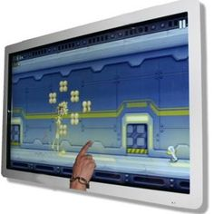 Giant ipad for hire. Our giant multi touch pad is available for hire in London and around the UK.