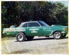 AWB Pontiac Tempest drag car. Vintage Race Car, Vintage Trucks, Pontiac Tempest, Nhra Drag Racing, Old Race Cars, Classic Chevy Trucks, Thing 1, Pontiac Gto, Drag Cars