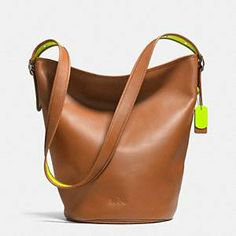 Natural Calf Duffle -- i dig the style maybe not the natural calf part