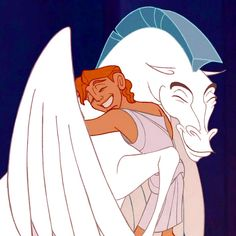 Hercules and Pegasus- Forever Friends