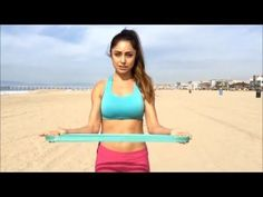 How to Workout Anywhere: 10 Resistance Loop Band Moves - YouTube