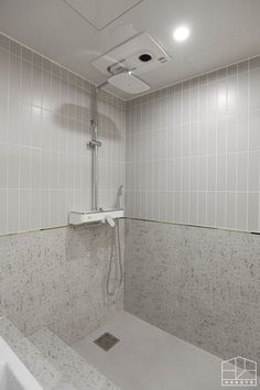 Exhibition Display, Powder Room, Tile Floor, Bathtub, Bath Room, Interior Design, House, Ceiling, Makeup