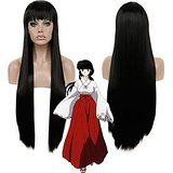 Diy-Wig Long Straight Black Daily Wigs for WOmen