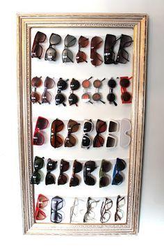 Resultado de imagen para organizar las gafas de sol
