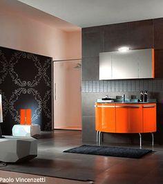 Vintage Pebble Floor Tile Launches Tex S Gray Black Orange And White Bathroom Remodel Pinterest Color Inspiration Tubs Retro Bathrooms