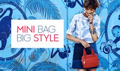 The Kipling blog puts a spotlight on a new adorable trend: the mini bags. Discover everything you can do with these bags mini in size but maxi in style!