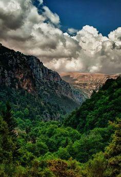 Qannoubi Valley, Bcharri, Lebanon