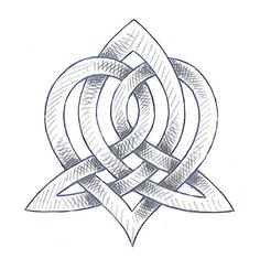 Celtic sisterhood knot. I want to get this on my right wrist with my sisters initials around it, and the mother daughter knot on my left wrist