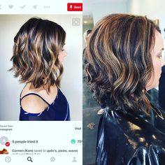 First pic was what my client wanted to do and the second pic is her results! #prettydangclose #joico #salon413 #verolightener