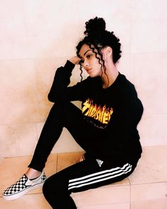Thrasher Magazine Limited Edition Products Outfit from Mindless Puppetz Chill Outfits, Swag Outfits, Grunge Outfits, Cute Outfits, Sport Outfits, Baddie Outfits Casual, Ghetto Outfits, Teenage Outfits, Teen Fashion Outfits
