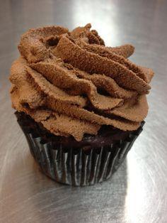 chocolate paleo cupcake