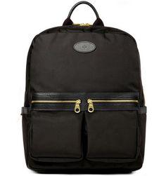 Gym bag alternatives: Mulberry Henry Leather-Trimmed Backpack