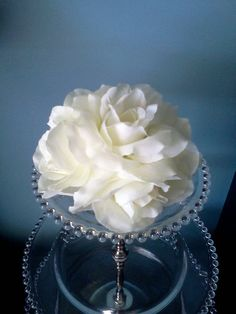 This one would be pretty we could use orchids instead of roses clear plastic cake & SHREK \u0026 FIONA Wedding Cake Topper LOT Glasses Knife Server set ...