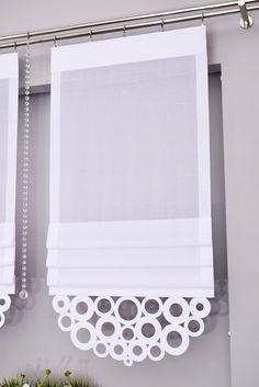 GOTOWE ROLETKA DIANA I PANELE EKRANY AŻUR 50-60-70 7142900016 - Allegro.pl Fabric Blinds, Curtains With Blinds, Home Staging Tips, Shades Blinds, Door Curtains, Curtain Designs, Window Frames, Roman Shades, Window Treatments